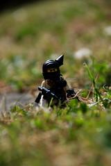 Lego + guns = Cool (Gaetan Lee) Tags: grass lego fig july terrorist mini hidden figure minifig masked bandit 2008