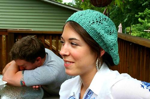 Lauren Nell Knitting Blog Archive Gwen Slouchy Beret