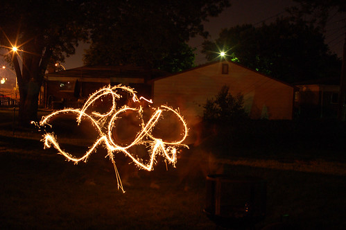 Playing with Sparklers