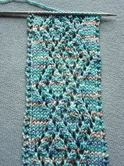 Glacier Diamond Scarf - Detail