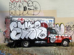 (kewlio) Tags: sanfrancisco graffiti interesting notes zeus stare rodeo chue resk redek ivk swerv paeday