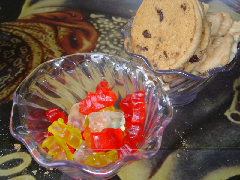 Gummy Bears and Cookies