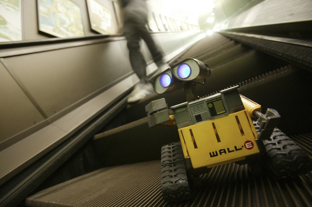 WALL-E toy visits London