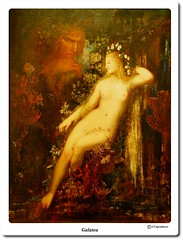 Galatea (our cultural archive) Tags: paris france fineart cyclops noflash museedorsay cate nudefemale galatea gustavemoreau frenchpainter symbolistpainting museumpainting oarsquare mythologicaltheme