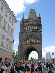 The Old Town Bridge Tower Entrance To The Charles Bridge, Prague.