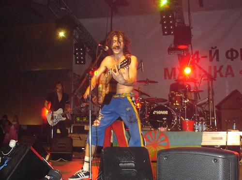 Gogol Bordello @ Lenexpo, St. Petersburg (23.07.2008)