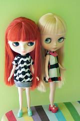 Astrid and Birgit