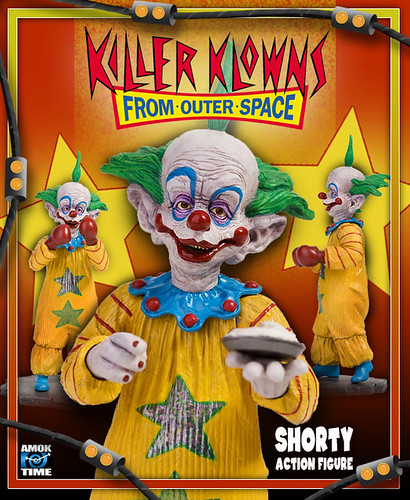 AMOK TIME  : Killer Klowns from Outer Space 'Shorty' Deluxe Action Figure i  (( 2009 ))
