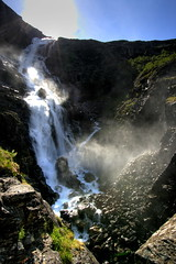 Stigfossen (Roveclimb) Tags: road street norway norge waterfall strada scandinavia norvegia cascata fossen