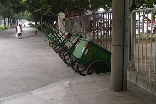 Green Small Car