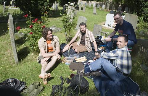 Picnic at Orwells Grave