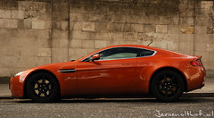 Aston Martin V8 Vantage (Jeroenolthof.nl) Tags: orange color london jeroen martin v8 aston vantage amv8 olthof jeroenolthofnl jeroenolthof