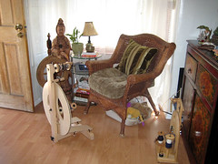 My Spinning & Knitting Corner