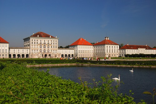 Front View of Schloss Nymphenburg, Munich