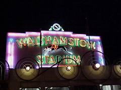 Walthamstow Stadium, Neon