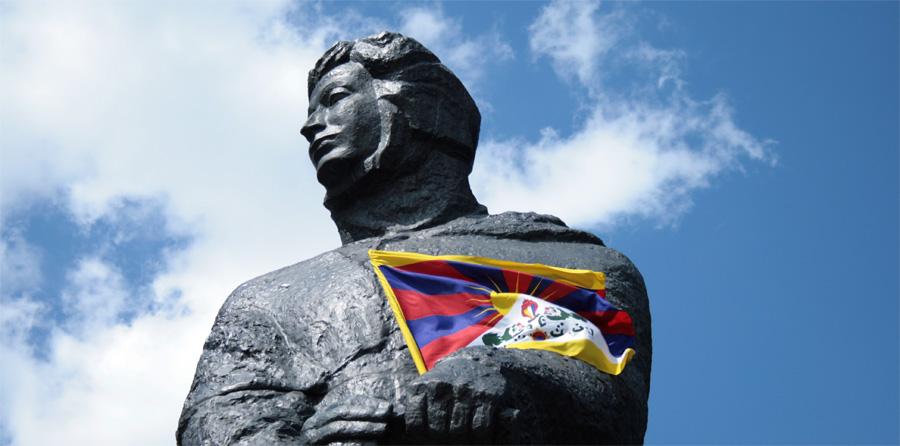 Adam Mickiewicz for Tybet