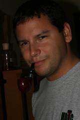Danny & his pipe (jlitrich) Tags: pipe smoking smoker pipesmoker smokingbriar