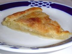Detalle de la Tarta de Manzana