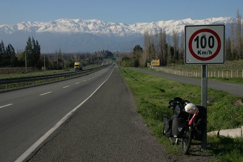 Tres magnifique! South of Los Andes, Chile.