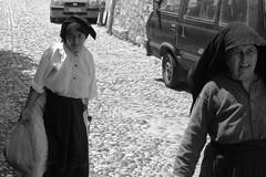 Rhodes - Treading the Cobbles (okbends) Tags: greek women cobblestone greece elderly rhodes rhodos