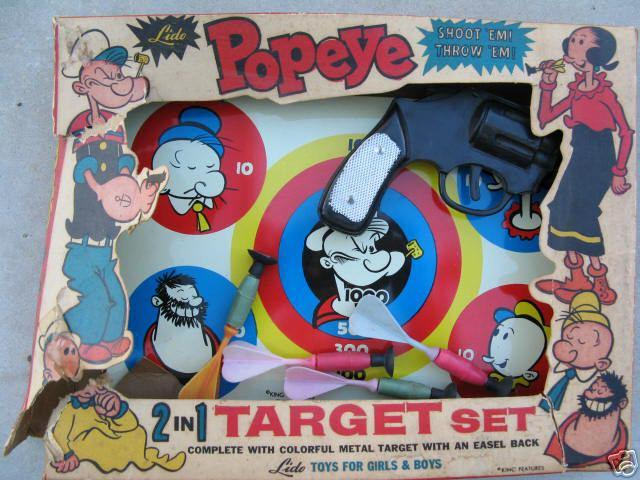popeye_targetgame