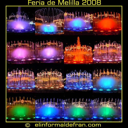 Fuente de color