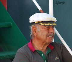 Sailor on the deck (Aster-oid) Tags: men sailors greece halki