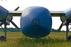 Noratlas 2501 à Lons-le-Saunier (jeanmichelchuiche) Tags: france bleu nord avion lonslesaunier 2501 noratlas nordaviation étatscandaleux