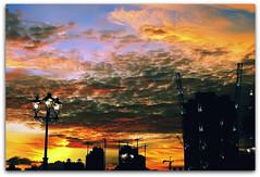 Spectacular Sunset | Clarke Quay | Singapore (I Prahin | www.southeastasia-images.com) Tags: sunset colors intense singapore cranes clarkequay singaporeriver singaporesunset colemanbridge s100fs clarkequaysunset daarklands bestcapturesaoi gettyimagessingaporeq1 gettyimagessoutheastasiaq1