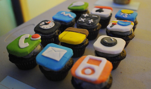 iPhone Icon Cupcakes