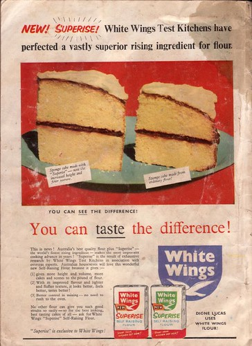 White Wings Flour Advertisement