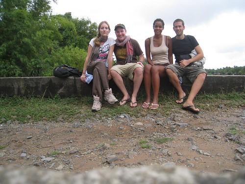 (from left) Celene, me, Caroline, Nicholas