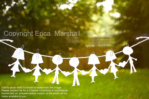 We are all connected. / Erica Marshall