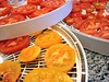 Sliced Tomatoes Ready To Dry