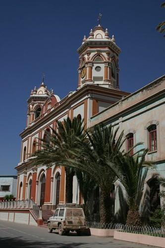 Tupiza Cathedral. Southern Bolivia.