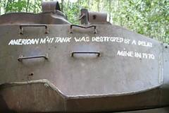 The Fate of the US Tank (range commander) Tags: seasia tank vietnam saigon hochiminhcity hcmc cuchitunnels vietnamwar ustank seasiaadventure