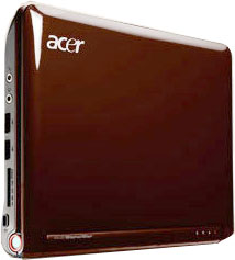 Acer Aspire One Brown, marron, chocolat