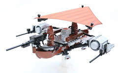 Wookie Windrider (jehkay) Tags: lego wookie windrider
