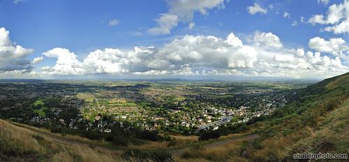 Malvern Hills Panorama
