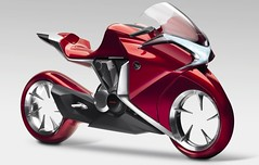Honda V4 concept motorcycle