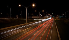 Lighting up the Highway (Michel Filion) Tags: longexposure light night canon highway raw traffic michel 132 montrgie filion 400d tamronspaf1750mmf28xrdiiildasphericalif rebelxti mike9alive michelfilion