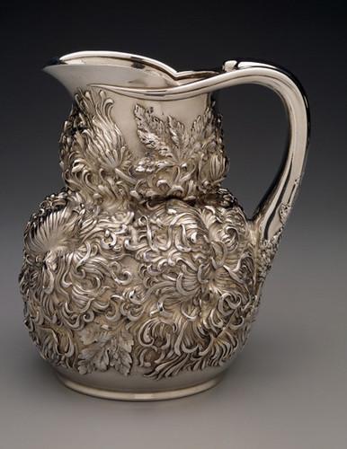 013- Jarra de agua en plata 1893