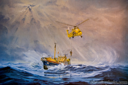 Lifeboat Painting