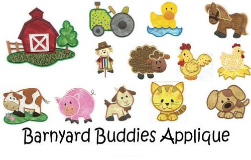 Barnyard applique