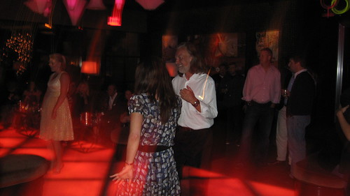 Huber Keller tears up the dance floor