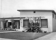 Garden Grove Branch Library, 1956 (Orange County Archives) Tags: california history library southerncalifornia gardengrove liblibs orangecountypubliclibrary orangecountyarchives orangecountyhistory gardengrovebranchlibrary