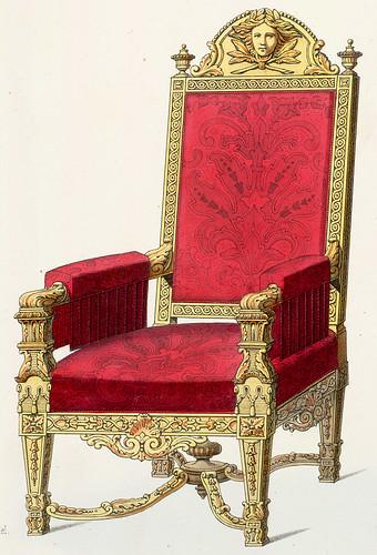 020-Sillon estilo Luis XIV