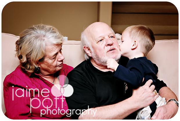 Josh's Parents with E