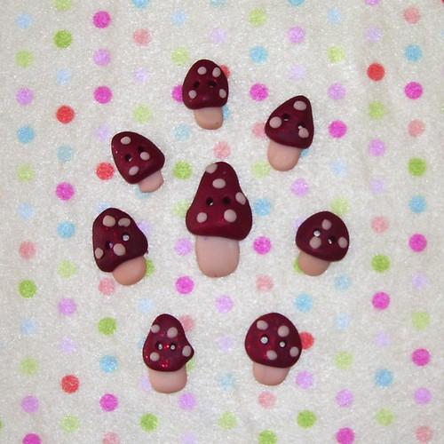 Cogumelos Brilhantes!