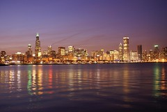 Chicago Skyline by Nimesh M, on Flickr